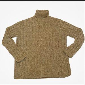CARLISLE Cashmere Silk Knit Turtleneck Sweater